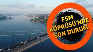 Fatih Sultan Mehmet Köprüsündeki (FSM) çalışmalar ne zaman bitiyor