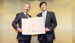 Çalık'a Japonya Devlet Nişanı
