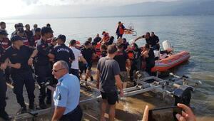 Sapanca Gölünde kaybolan Erenin cansız bedeni bulundu