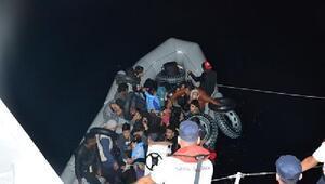 Balıkesirde 32 kaçak göçmen yakalandı