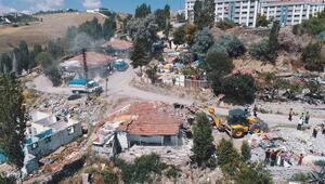 210 gecekondu yıkılıyor