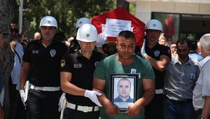 Şehit polis memuru Uluçay son yolculuğuna uğurlandı