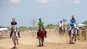 Rahvan atları 75 bin TL ödül için yarıştırıldı