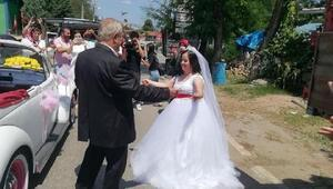 Down sendromlu Şehimanın düğün hayali gerçek oldu