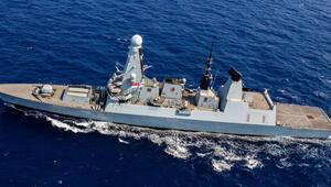 İngiltereden İran hamlesi Savaş gemisi Hürmüz Körfezine ulaştı