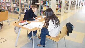 9 bin öğrenciye bir kütüphane