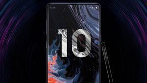 Galaxy Note 10 Samsungun internet sitesinde yayınlandı