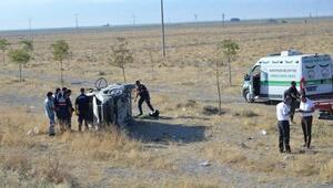 Düğün dönüşü kaza: 2 ölü, 3 yaralı
