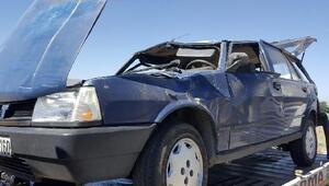 Tatil için memleketlerine gelen çift, kazada öldü