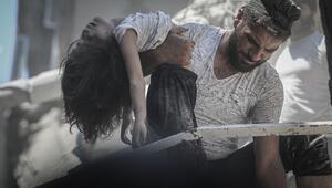 İdlib Gerginliği Azaltma Bölgesine hava saldırıları: 7 ölü