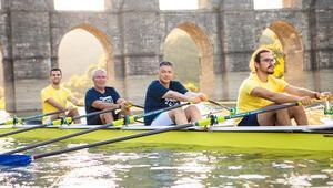 Boğaziçi Kürek Takımı'na yeni yarış teknesi