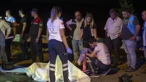 Ankarada feci kaza Lastik değiştiren belediye çalışanlarına TIR çarptı: 2 kişi öldü