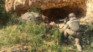 Ercişte PKK sığınağı kullanılamaz hale getirildi