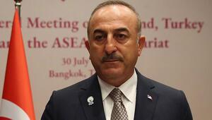 Son dakika... Dışişleri Bakanı Çavuşoğlundan Uygur Türkleri açıklaması