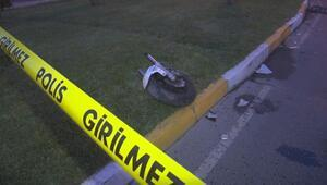 Bahçelievlerde motosiklet kazası: 1 ölü, 1 yaralı