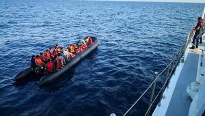 Edirnede 65 kaçak göçmen yakalandı