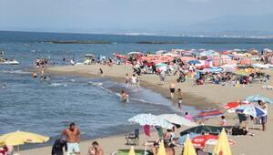 Sakaryanın mavi bayraklı plajlarına ilgi büyük