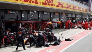 Formula 1de rekor: 4 lastik 1.88 saniye