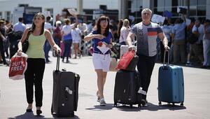 İlk 6 ayda 18 milyon yabancı ziyaretçi