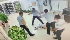 Ercan Havalimanında polis şiddeti tepki çekti