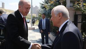 Cumhurbaşkanı Erdoğandan Devlet Bahçeliye ziyaret