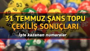 MPİ 31 Temmuz Şans Topu çekiliş sonuçları Şans Topunda 797 bin TL sahibini buldu