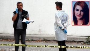 Kadına sokak ortasında kanlı infaz