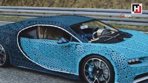Bu otomobilde tam 1 milyon lego parçası var