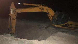 SİT alanında iş makinesiyle kaçak kazıya 6 gözaltı