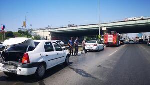 Pendikte zincirleme trafik kazası
