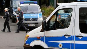 Son dakika... Frankfurtta tren istasyonunda polis operasyonu