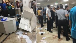 Gaziantepte şoke eden olay Doktora saldırdı, hastaneyi dağıttı...