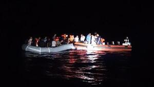 Datçada 42 kaçak göçmen yakalandı