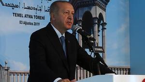 Cumhurbaşkanı Erdoğan Süryani Kilisesi temel atma töreninde konuştu