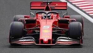 Macaristanda ilk sıra Vettelin