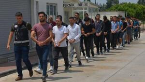 FETÖ operasyonunda yakalanan 41 polis Adanaya getirildi