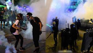 Hong Kongda protestolar devam ediyor