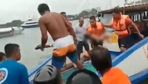 Filipinlerde 3 feribot alabora oldu: 30un üzerinde ölü var