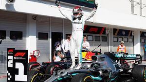 Hamiltondan sezonun 8inci zaferi