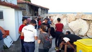 Muğlada 22 kaçak göçmen yakalandı