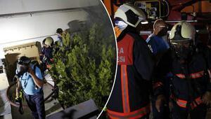 Son dakika... Ankarada saunada yangın paniği: Pencereden çığlık atıp yardım istediler