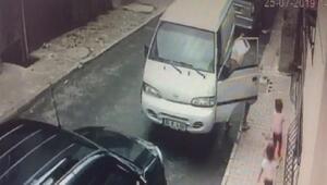 Otomobil hırsızı parmak izlerini tişörtüyle sildi