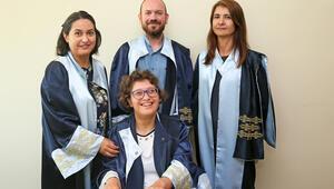 Serebral palsi hastası gencin örnek başarısı