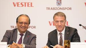 Trabzonspor ile Vestel arasında 9 milyon euroluk anlaşma