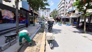 Sakarya Caddesi'nde ilk bölüm yenilendi