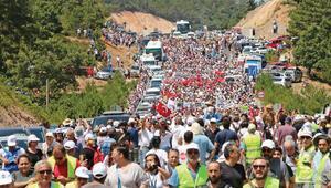 Kazdağları'nda maden eylemi