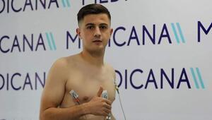 Armin Djerlek sağlık kontrolünden geçti Sivassporun yeni transferi...