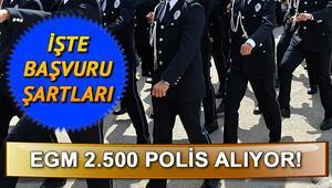 PMYO polislik başvuru şartları neler Önlisans ve lise polis alımı başvurusu nasıl yapılır