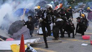 Çin: Hong Kongda suçlular cezalandırılacak