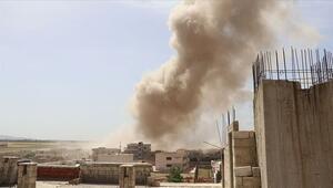 Rusyanın İdlibe hava saldırısında 4 sivil öldü
